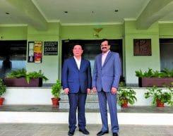 Mr. Rajiv Podar hosted a lunch in Mumbai to welcome HE Mr. Liu Shuguang - the Hon. Mayor of Weifang City, Shandong