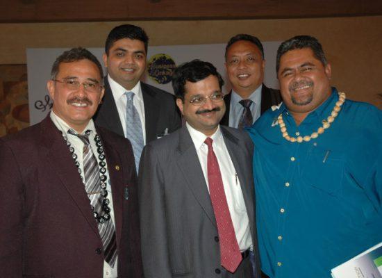 Mr. Rajiv Podar along with Ministers from Samoa