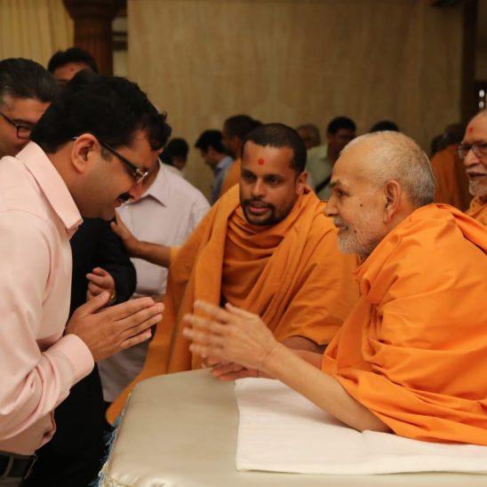 HH Mahant Swami Maharaj